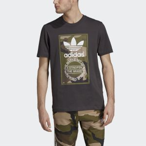 Camouflage Tongue Label Tee