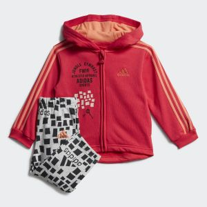 Graphic Hooded Jogger Set